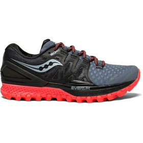 saucony Xodus ISO 2 - Zapatillas running Mujer - gris/negro